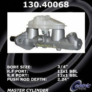 Centric Parts 130.40068 Brake Master Cylinder