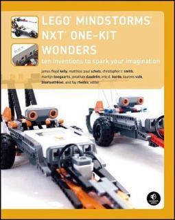 LEGO MINDSTORMS NXT One Kit Wonders Vol. 2 Ten Inventions to Spark