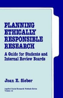 Review Boards Vol. 31 by Joan E. Sieber 1992, Paperback