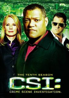 CSI Crime Scene Investigation   The Tenth Season DVD, 2010, 7 Disc Set