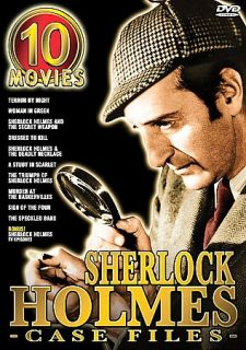 The Sherlock Holmes Case Files   Box Set DVD, 2004, 5 Disc Set