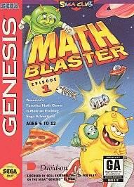 Math Blaster Episode 1 Sega Genesis, 1994