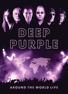 Deep Purple   Around the World Live DVD, 2008, 4 Disc Set