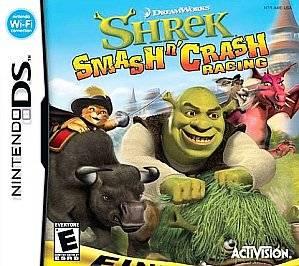 Shrek Smash n Crash Racing Nintendo DS, 2007