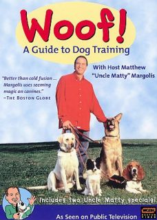 Woof   A Guide to Dog Training DVD