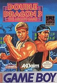 Double Dragon III The Arcade Game Nintendo Game Boy, 1993