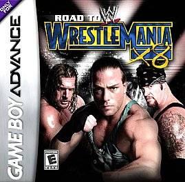 WWE Road to WrestleMania X8 Nintendo Game Boy Advance, 2002