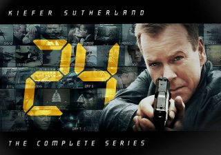 24 The Complete Series DVD, 2010, 55 Disc Set