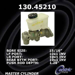 Centric Parts 130.45210 Brake Master Cylinder
