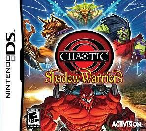 Chaotic Shadow Warriors Nintendo DS, 2009