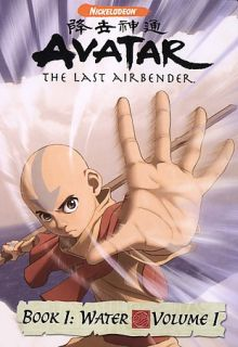Avatar The Last Airbender   Book 1 Water   Vol. 1 DVD, 2006
