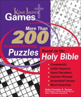 King James Games Study Puzzles Crafted for the Learning and