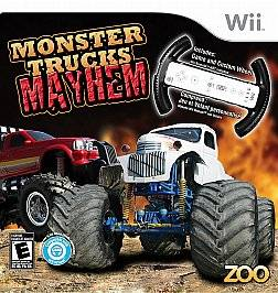 Monster Trucks Mayhem with Custom Wheel Wii, 2010
