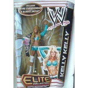 Wwe Action Figure Elite Series 17 Kelly Kelly w/ Divas Championship