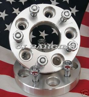 75  5X120.7MM CHEVY GMC OLDS PONTIAC  5LUG  WHEEL ADAPTERS SPACERS