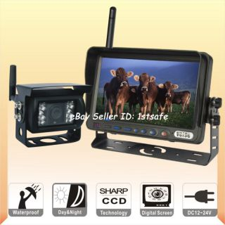 wireless backup camera system in Rear View Monitors/Cams & Kits