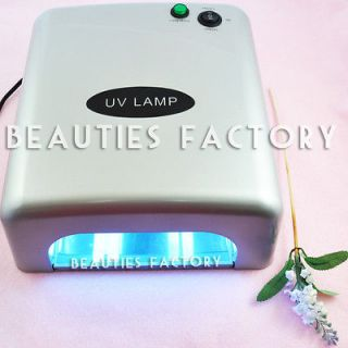 36W UV Gel Nail Art Curing Dryer Lamp 5 Light Bulbs 603