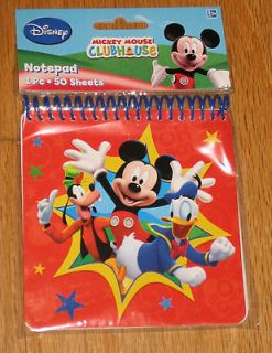 DISNEY MICKEY MOUSE, DONALD DUCK, & GOOFY   NOTEBOOK/AUTOG​RAPH BOOK