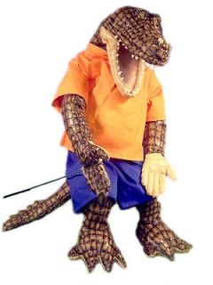 PROFESSIONAL MINISTRY 28 VENTRILOQUIST DUMMY ALLIGATOR PUPPETS WITH