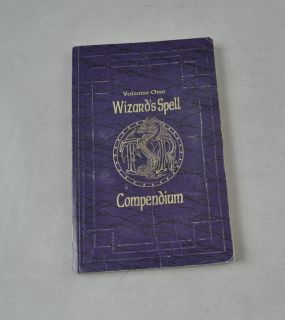 Dungeons & Dragons AD & D Wizards Spell Compendium 1 SC Book RPG