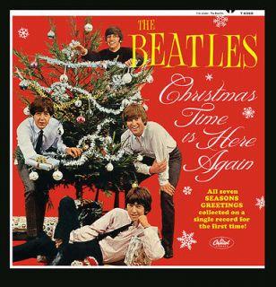 THE BEATLES   CHRISTMAS ALBUM    ALTERNATE MONO COVER
