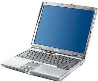 DELL D600 LAPTOP 40GB WIFI 1GB OFFICE WIN XP CHEAP NEW BATTERY