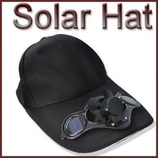 Solar Power Hat Cap Cool Fan F Outdoor Golf Baseball