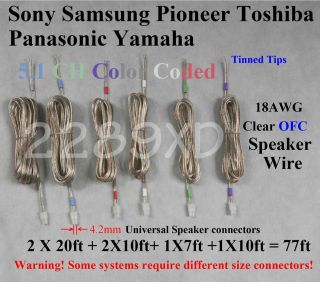 sony speaker wire in Audio Cables & Interconnects