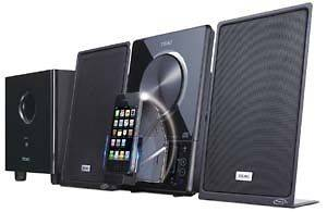 HI FI STEREO SYSTEM W/IPOD DOCK MC DX901/MAIN UNIT/SPEAKER/SUBWOOFER