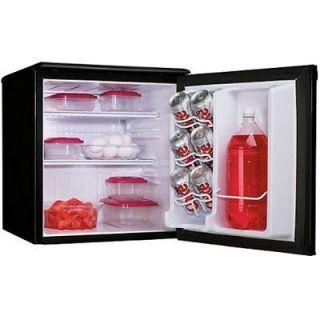 cu.ft. Refrigerator   Black Compact mini fridge dorm office
