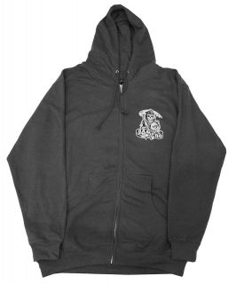 Of Anarchy Samcro Crossed Scythes Logo TV Show Adult Zip Up Hoodie