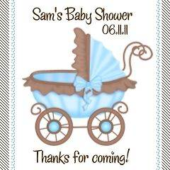 baby shower favor tags in Favors