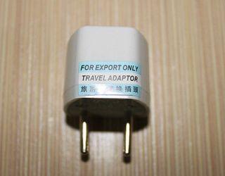 Universal Travel AC Power Adapter Plug AU US UK To EU Conversion