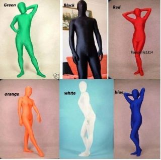 Full Body Lycra Spandex Skin Suit Catsuit Halloween Party Zentai