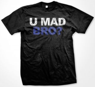 You U Mad Bro Brother Gang Confrontation Fight Rude Aggressive Mens