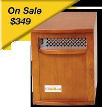 Elite Heat EH 1500 Infrared Heaters by SUNHEAT electric / portable