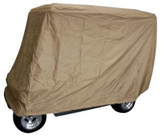 Golf Cart Storage Cover/80 Top with Rear Seat/Storage Bag/FREE