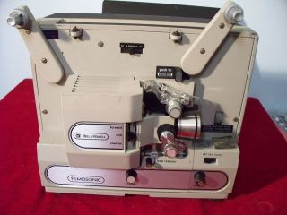 Bell & Howell FILMSONIC 8mm Movie Projector with Sound