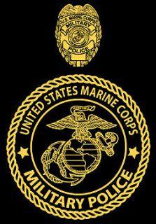 Marine Corps Military Police USMC MP shirt