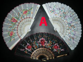 spanish hand fans in Clothing, Shoes & Accessories