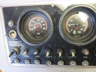 Boat Marine Stern Drive Gauge Set & Dash Tach Speedo Temp Oil Press