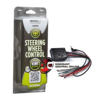 UNIVERSAL STEERING WHEEL CONTROL INTERFACE FOR AFTERMARKET RECEIVERS