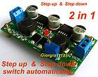 DC/DC Converter Regulator Step up & Step down 2 in 1