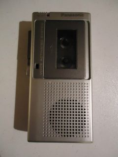 Panasonic Voice Activated System Micro Cassette Recorder RN 109A