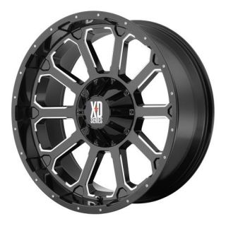 22x12 KMC XD Bomb Black Wheel/Rim(s) 8x180 8 180 22 12