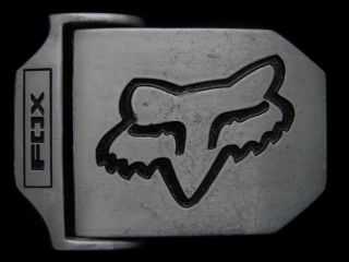 VERY COOL **FOX RACING** BRAND LOGO FASHION BELT BUCKLE