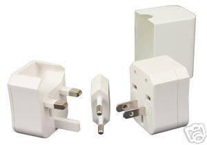 Universal Adapter Plug Set Byetta Insulin Mini Fridge