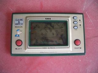 Nintendo POPEYE Game and watch wide screen FREE SHIPPING