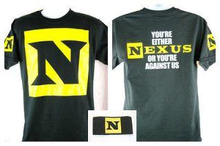 Nexus or Against Us T shirt Armband package CM Punk Wade Barrett New