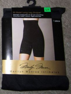 Womens MARILYN MONROE Seamless Hi Waist Long Leg Shaper